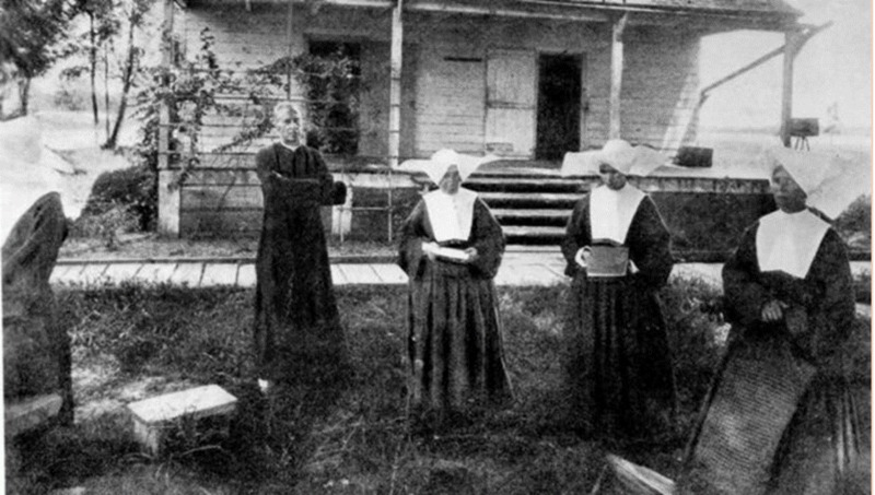 Father Colton and the First Sisters