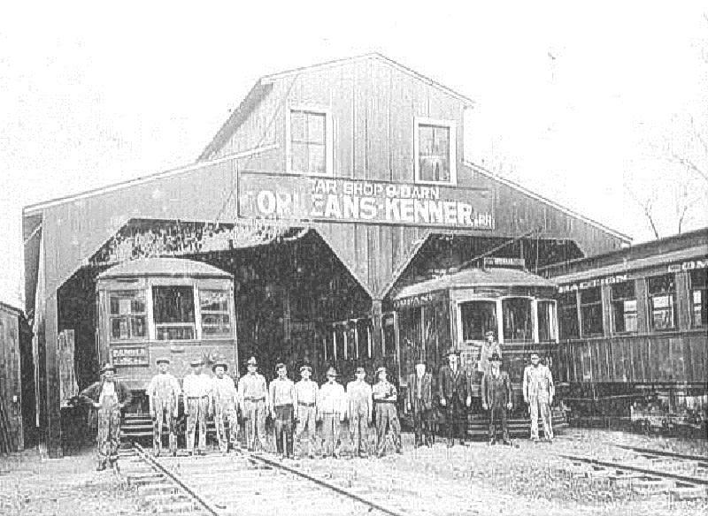 O-K Line Harahan barn, 1920s