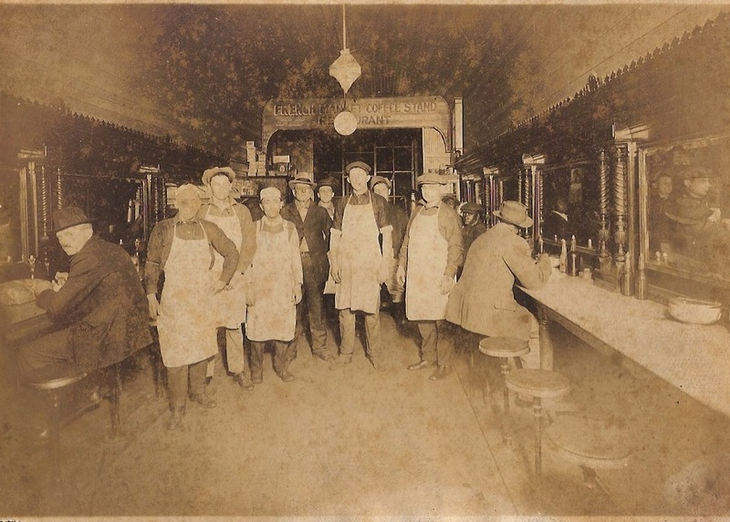 French Market Coffee Stand, circa mid-1920s