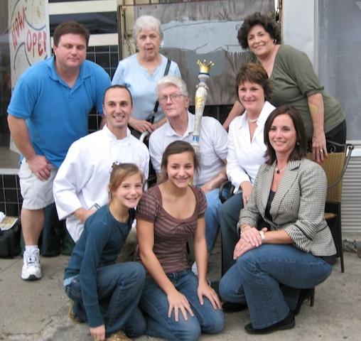 Martin family members, 2007