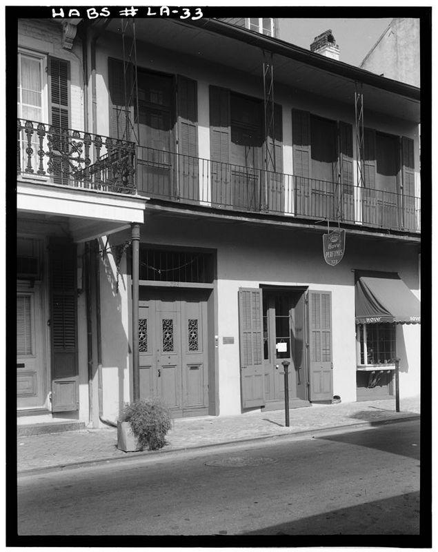 722 Toulouse Street, 1959