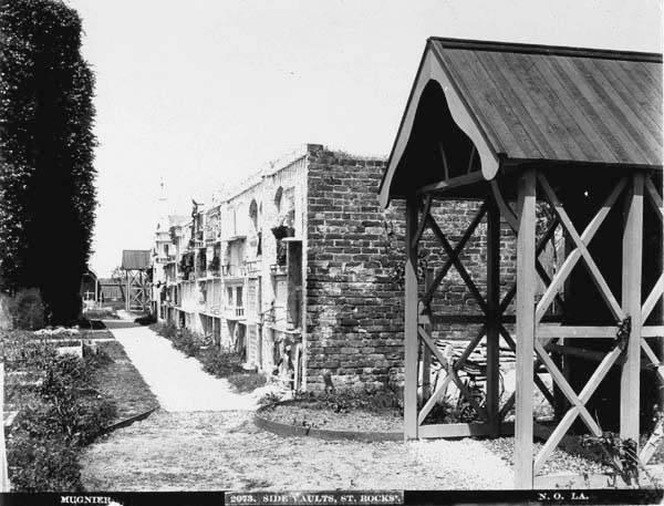 Side Vaults, St. Roch Cemetery
