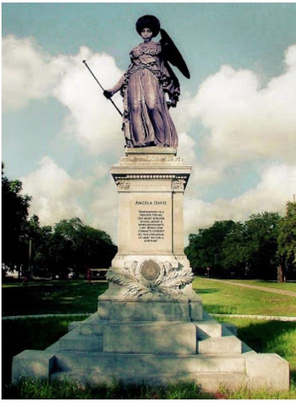 Angela Davis Monument